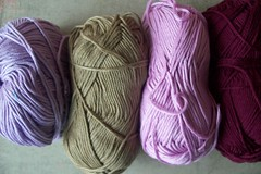 13 (fleurfatale) Tags: new wool colors crochet shades yarn cotton