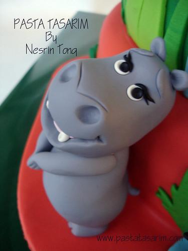 MADAGASKAR CAKE - GLORIA