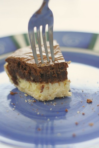 CheesecakeBrownie Pie Fork