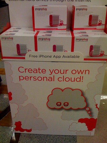 Create your own personal cloud -- Pogoplug