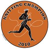 Knitting Olympics Medal