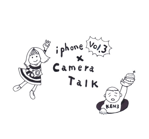 iPhone x CameraTalk Vol.3ロゴ