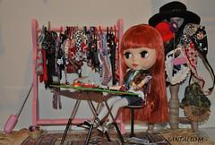 Aisha, a estilista!!