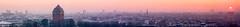 (neontiger) Tags: sunset panorama skyline sonnenuntergang pano hamburg stpauli wasserturm altona schanze