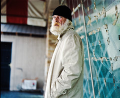 Sam (www.gageyoung.com) Tags: street travel portrait mamiya umbrella shoes walk homeless young indiana hike journey portraiture medium format hitch gage traveler rb67