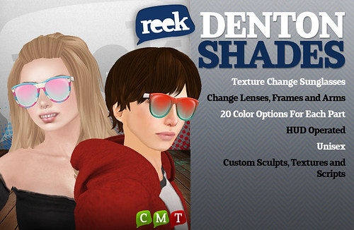 Reek - Denton Shades Ad