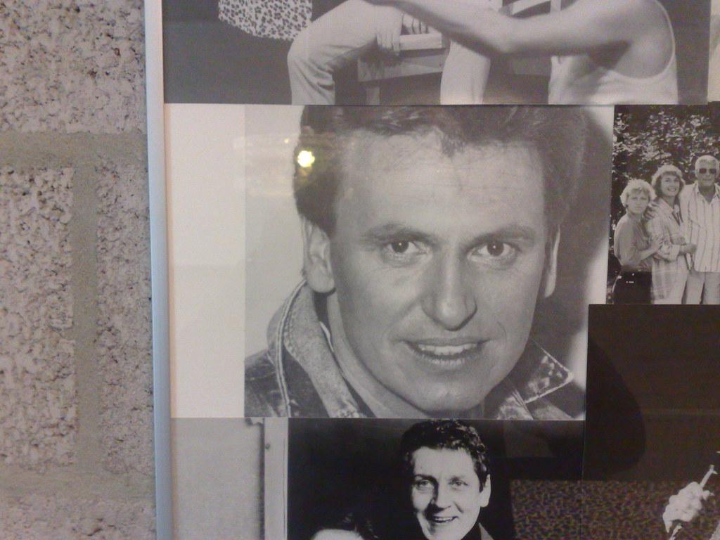 Henny Huisman pronkt aan de muur