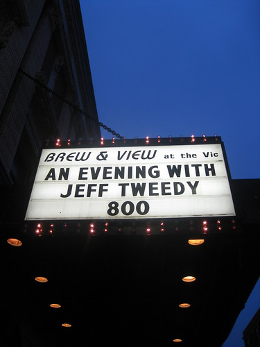 Jeff Tweedy, Vic Theatre, 03-13-10
