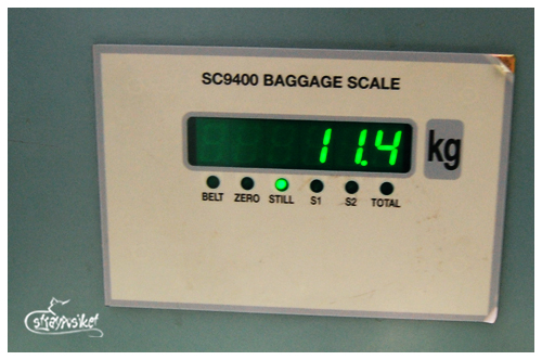 baggage weight