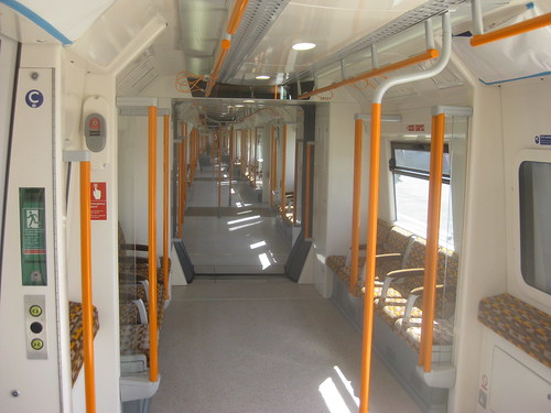Inside new East London Line Carriage by Matt from London