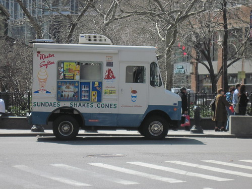 Mister Softee Appears, True Sign of Spring