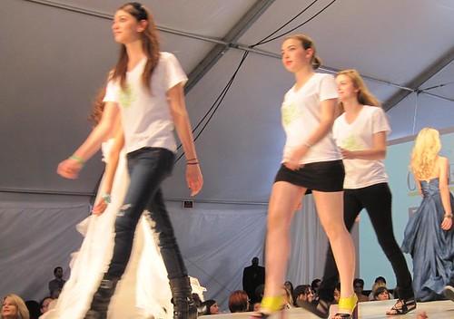 at the Green InitiativeHumanitarian Fashion Show