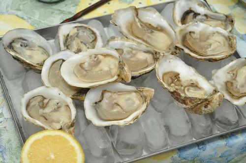 Kushi/Effingham oysters