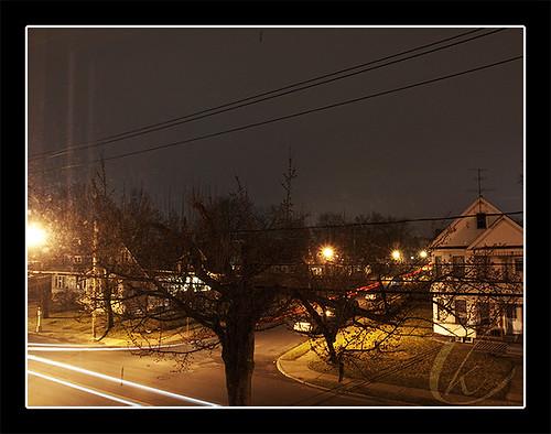 Street at nite