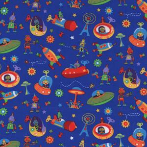 Michael Miller fabric - Bots N Robots