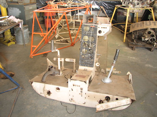 AHSNT Bell 47 Helicopter Rebuild March 2008