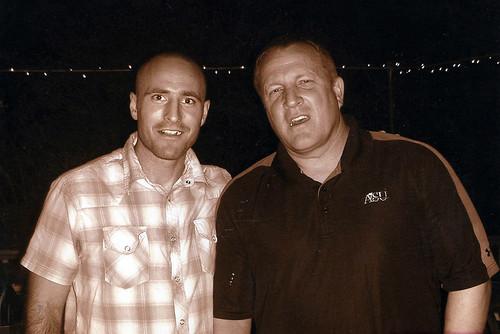 Pat Murphy with Kevin Tillman