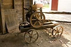 Steam Driven Irrigation Pump Engine (Rexness) Tags: wine winery vineyards farmmachinery tahbilk oldwineryequipment