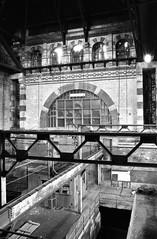 . (JHamel) Tags: blackandwhite abandoned industry film boston 35mm rust industrial ilfordhp5 mass exploration tamron2875mmf28 bostonwaterworks