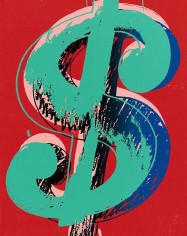 Warhol Dollar Sign