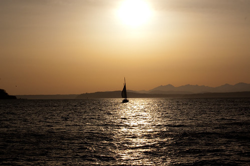 Sailing into the Sunset 1