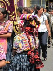 Processions, semaine de Paques, Quetzaltenango