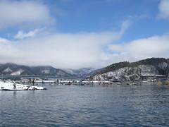 雪景色のスタート