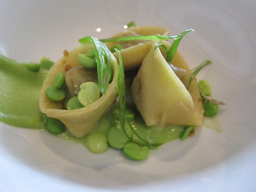 foie gras tortellini