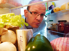 Feeling snackish (paddy fields) Tags: portrait people selfportrait cheese mushrooms pepper lumix milk fridge head strawberries ham lemons panasonic cooler refrigerator freezer jam groceries celery khlschrank capsicum preserves waterproof frigo altonbrown icebox ts1 fs1 15challengeswinner 241543903 headsinfreezers