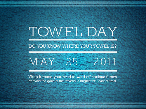 Towel Day 2011