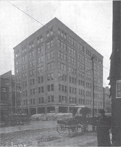 The Columbia Building under construction