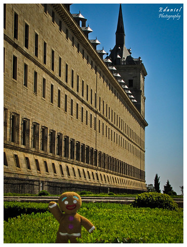 Gingy at the Escorial