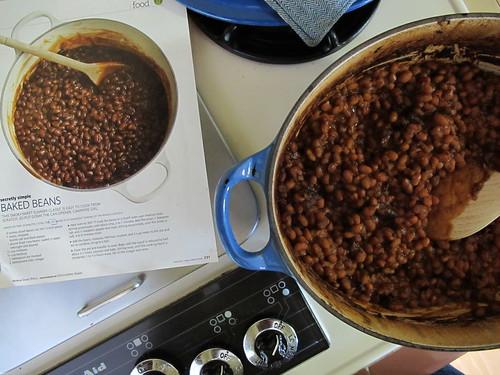 unplugged sunday:  baked beans