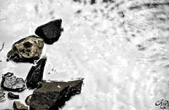 Swimming Lesson (LaKry*) Tags: nature water sunshine movement rocks waves stones circles natura pietre movimento sassi acqua torrent onde cerchi torrente valledellorco santorso
