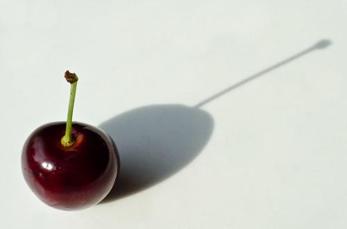 A cherry shadow