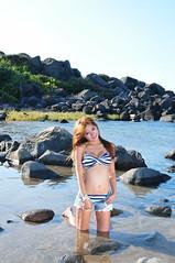 丞妮0031 (Mike (JPG直出~ 這就是我的忍道XD)) Tags: 丞妮 風稜石 d300 model beauty 外拍 portrait 2013 swimsuit 泳裝