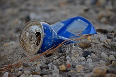Discarded Pepsi can (SchuminWeb) Tags: schuminweb ben schumin web december 2016 maryland md st marys county saint saintmarys stmarys piney point pineypoint beach beaches sand sands sandy pepsico pepsi soda can cans blue canned trash litter debris cola pepsicola garbage discard discarded drink drinks aluminum