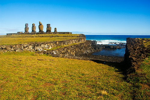 ahu tahai #1, Easter island
