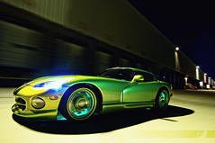 Glowing Flow... (ojsantiago21) Tags: dodge viper rt10 ssg snakeskingreen hre hid glow motion night speed longexposure rig manfrotto avenger rigshot ojsantiago automotivephotographer cincinnati automotive photographer