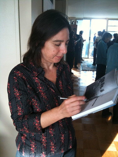 Sarah Schulman signing her new novel