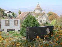 Armenia Sanahin monastery & cemetery