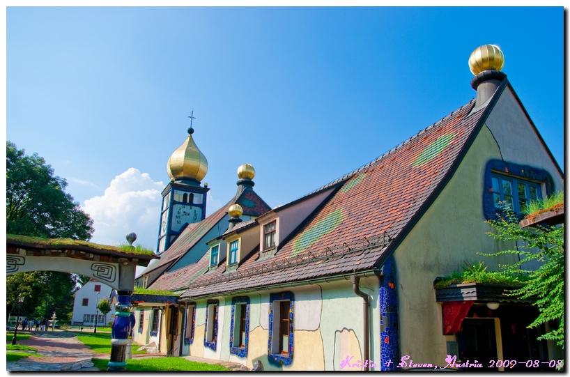 [遊記][奧地利]自由行 Day 2-1 全世界最可愛的教堂 St. Barbara Kirche