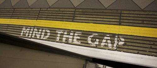 Mind the gap by Pommiebastards, on Flickr