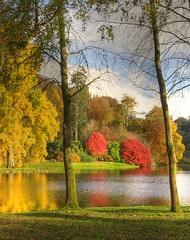 Stourton Lake View (Nala Rewop) Tags: autumn trees lake colors leaves golden colours stourhead nationaltrust stourton artofimages saariysqualitypictures imagesforthelittleprince bestcapturesaoi sailsevenseas