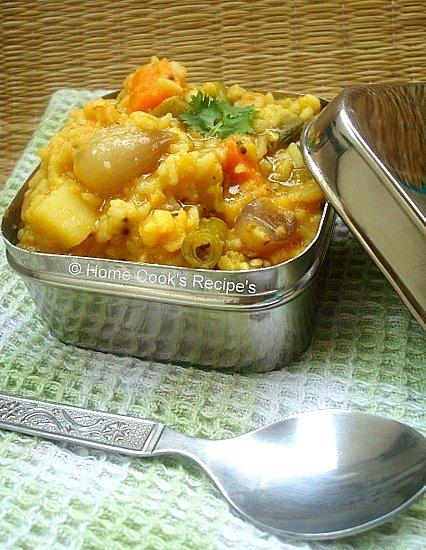 kadamba sambhar sadham