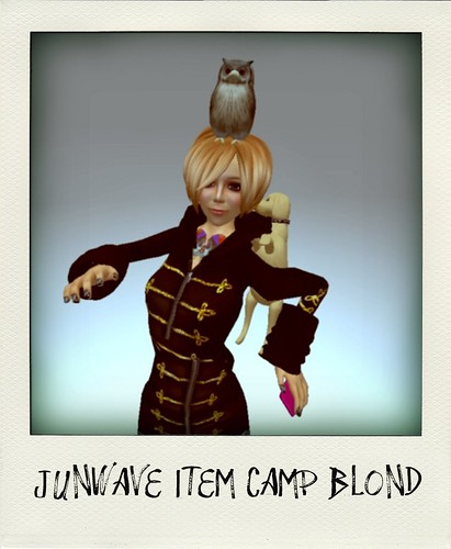 junwave item camp blond
