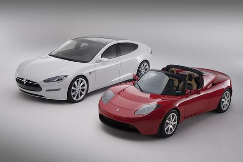Tesla Model S & Tesla Roadster