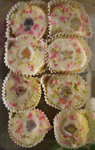 Mr Men Cup Cakes