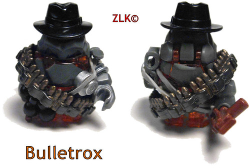 Bulletrox custom minifigs