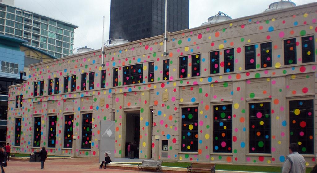 city gallery yayoi kusama